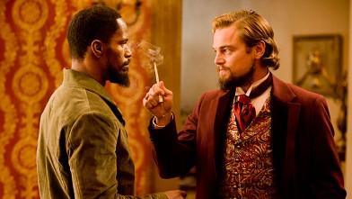 PHOTO: Jamie Foxx and Leonardo DiCaprio in 'Django Unchained'