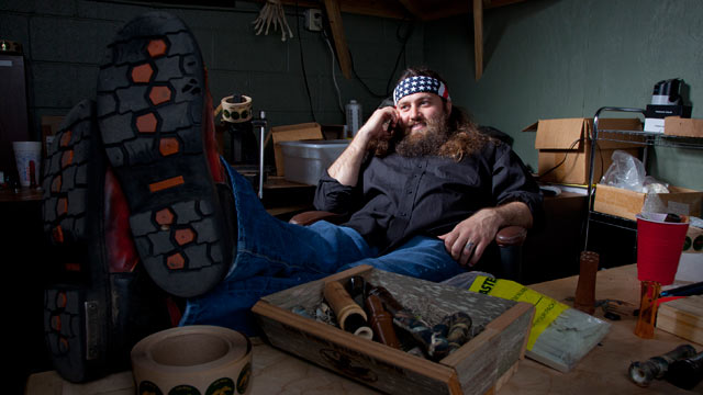 """PHOTO: Willie Robertson is shown in a scene from """"Duck Dynasty""""."""