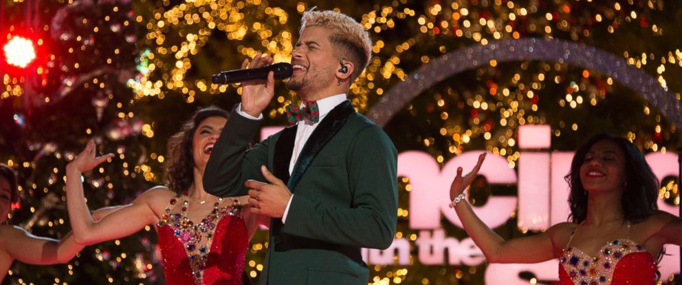 "PHOTO: Broadway star Justin Fisher on ""Dancing With The Stars."""