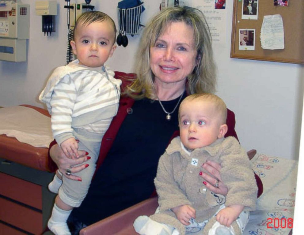 PHOTO: Frieda Birnbaum, 65, of Saddle River, N.J., and two children are pictured in this undated photo.