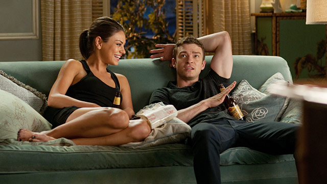 "PHOTO: Mila Kunis and Justin Timberlake in ""Friends With Benefits"""