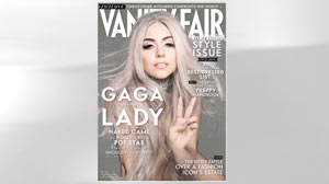 PHOTO Lady Gaga is shown on the cover of Vanity Fair.