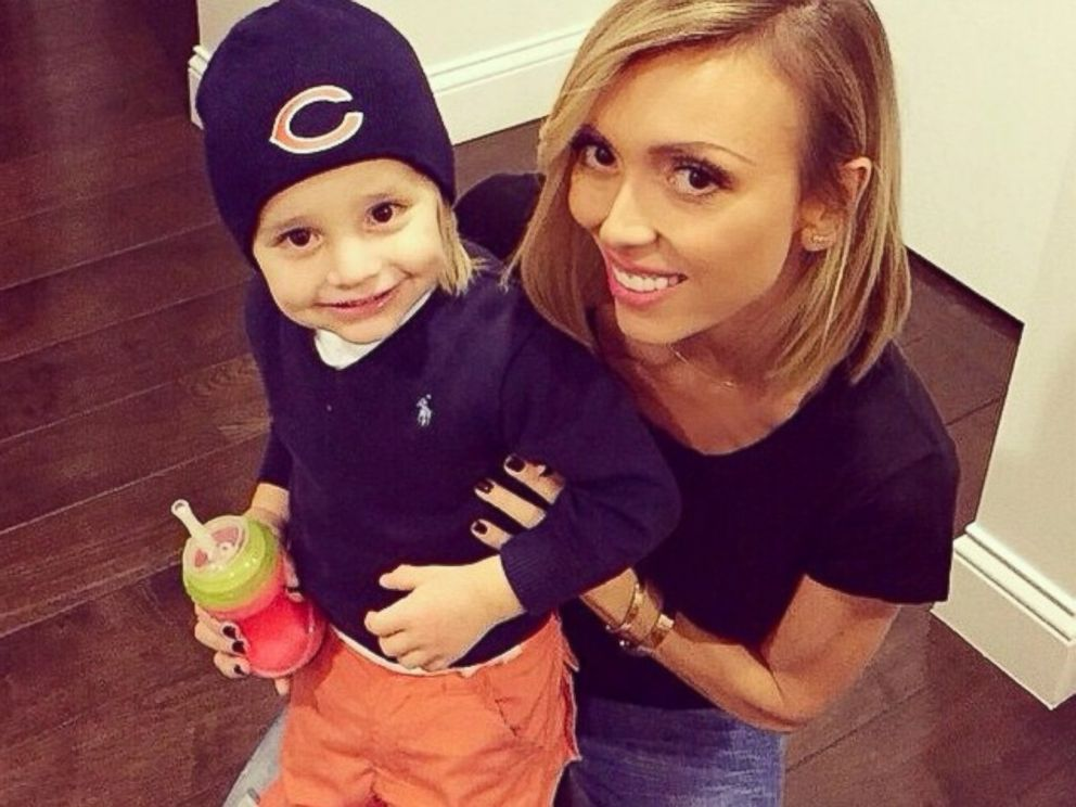 PHOTO: Giuliana Rancic is pictured with her son Duke in a photo she reposted from her husbands Instagram feed with the text, I cant even deal with his cuteness @dukerancic #repost from @billrancic.
