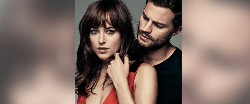 PHOTO: Jamie Dornan, right, and Dakota Johnson, left, are pictured in the March 2015 issue of Glamour.