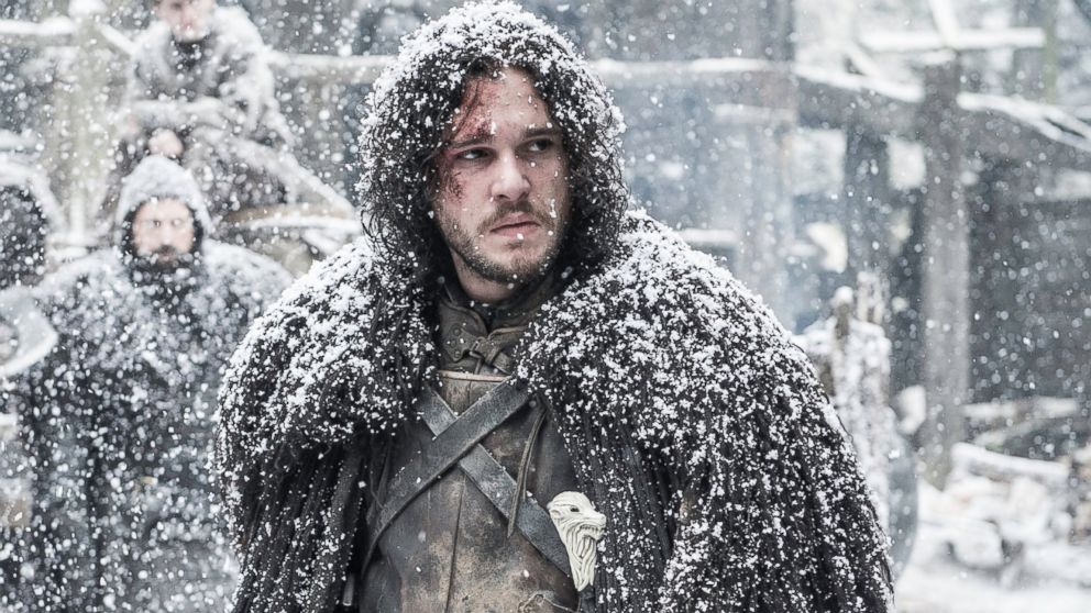 """Kit Harington is pictured in a still from """"Game of Thrones."""""""