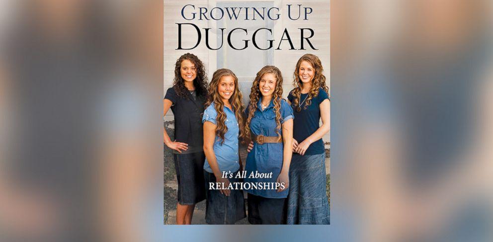 "PHOTO: The cover of ""Growing up Duggar,"" by Jinger, Jessa, Jill and Jana Duggar."