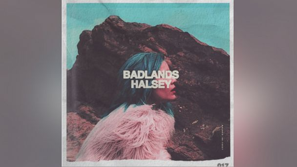 "PHOTO:Halseys ""Badlands"" album cover is pictured in this file photo."