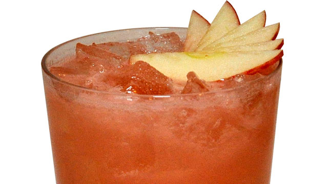 PHOTO: Herradura's watermelon and apple margarita is shown here.
