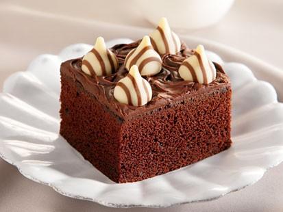 Hersheys Hugs and Kisses Candies Chocolate Cake Recipe ABC News