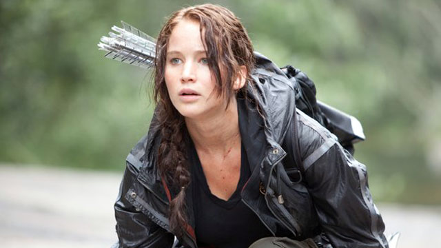 "PHOTO: Jennifer Lawrence stars as Katniss Everdeen in the film ""The Hunger Games."""