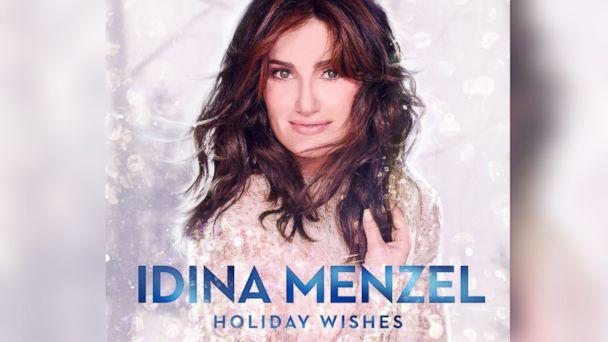 "PHOTO: Idina Menzel, ""Holiday Wishes"""