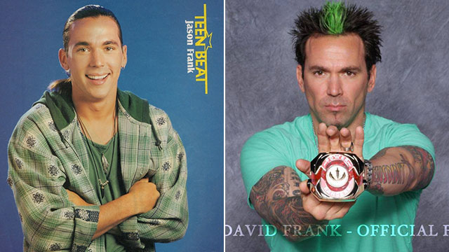 "PHOTO: Thomas ""Tommy"" Oliver, The original Green Ranger, and later becoming the original White Ranger, and then the White Ninja Ranger; portrayed by Jason David Frank; Profile image from his fan page on Facebook, Aug. 18, 2013."