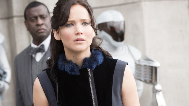 """PHOTO:Jennifer Lawrence stars as ?Katniss Everdeen? in """"The Hunger Games: Catching Fire."""""""