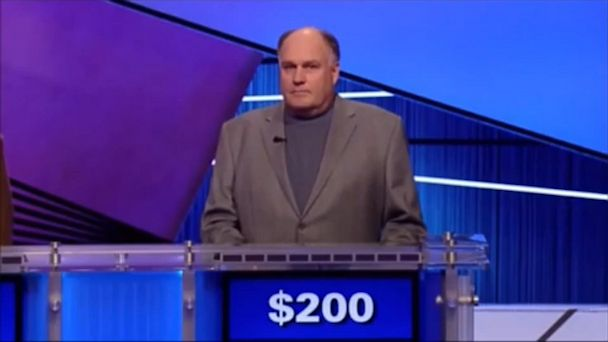 "PHOTO: Reid Rogers, seen here appearing on Jeopardy! in March, 2012, lost the game after mispronouncing ""Wimbledon""."