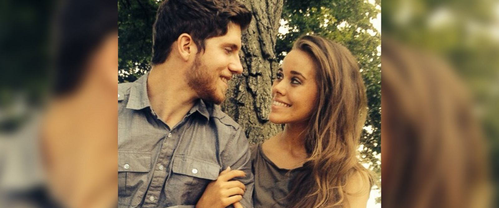 """PHOTO: Jessa Duggar and Ben Seewald of TLCs """"19 Kids and Counting"""" are pictured in a photo posted to Duggars Instagram account on Aug. 18, 2014, with the text, """"Time for some engagement photos!"""""""