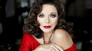 Photo: Joan Collins, the grand dame of divas, launched a one-woman show in New York City this week to dish about her career, her many men and what she thinks of todays most-coveted actresses.