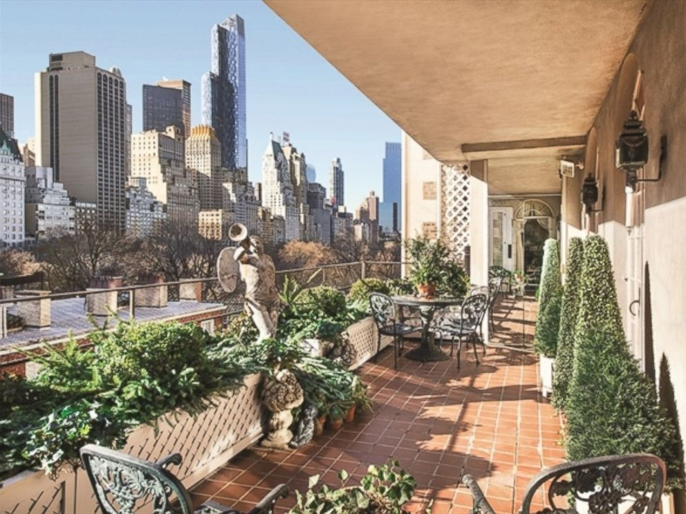 PHOTO: A View Of One Of Two Terraces At The 1 East 62nd St.