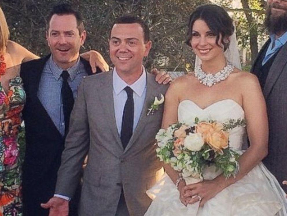 Inside Brooklyn Nine Nine Star Joe Lo Truglio S Rustic Wedding Abc News