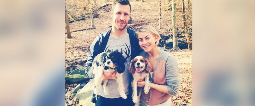 """PHOTO: Julianne Hough posted this photo to Instagram on Dec. 2, 2014 with the caption, """"A little nature walk with the loves of my life! Amazing goal tonight sweetheart! @brookslaich xoxo."""""""