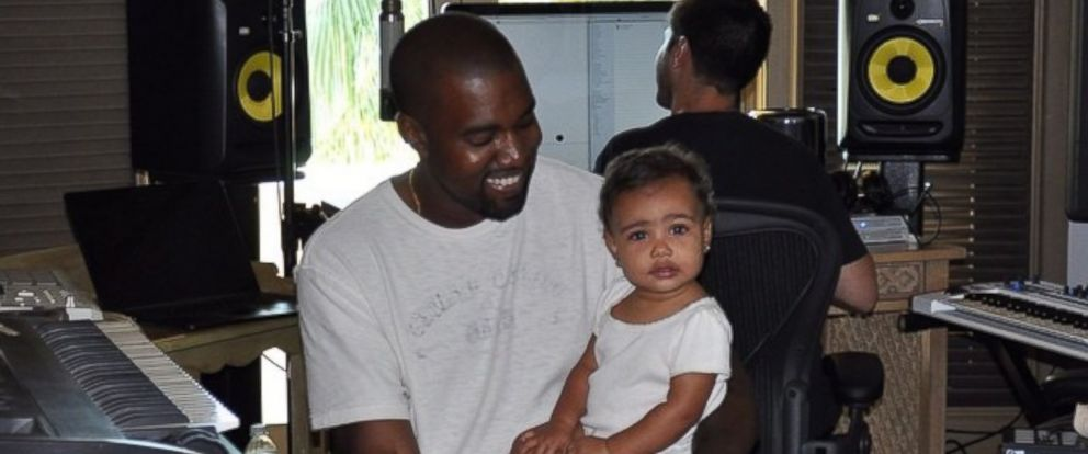 """PHOTO: Kim Kardashian posted this photo to her Instagram on Aug. 4, 2014 with the caption, """"#BringYourDaughterToWorkDay."""""""
