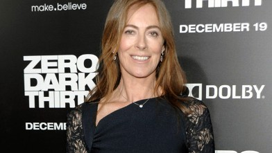 """PHOTO: Director Kathryn Bigelow arrives at the premiere of the feature film """"Zero Dark Thirty"""" at the Dolby Theatre in Los Angeles, Dec. 10, 2012."""