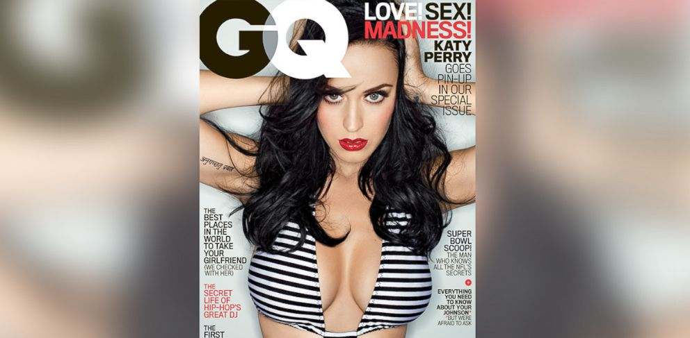 PHOTO: Katy Perry is pictured on the Feb. 2014 cover of GQ.