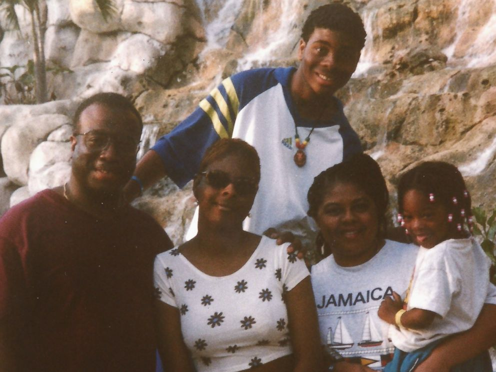PHOTO: In this personal photo, Kel Mitchell is pictured on a family vacation in 1998.