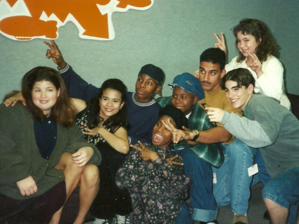 PHOTO: Kel Mitchell and his All That cast mates pose for a photo. The Nickelodeon show first aired in 1994.