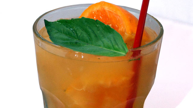 PHOTO: Rosa Mexicano's la mandarina cocktail is shown here.
