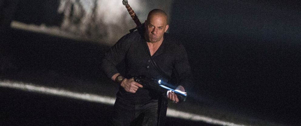"""PHOTO:Vin Diesel as 'Kaulder' in a scene from """"The Last Witch Hunter."""""""