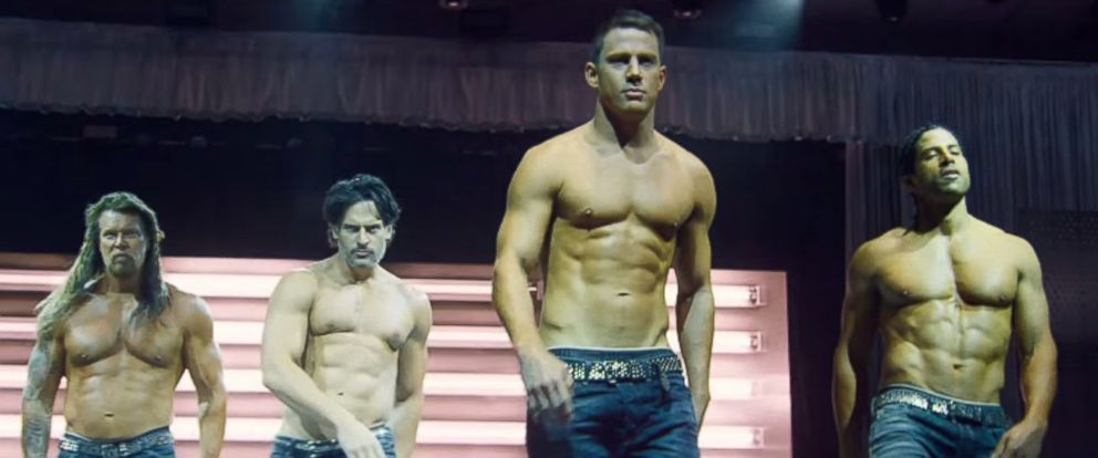 """PHOTO: A still from """"Magic Mike XXL"""" is pictured."""