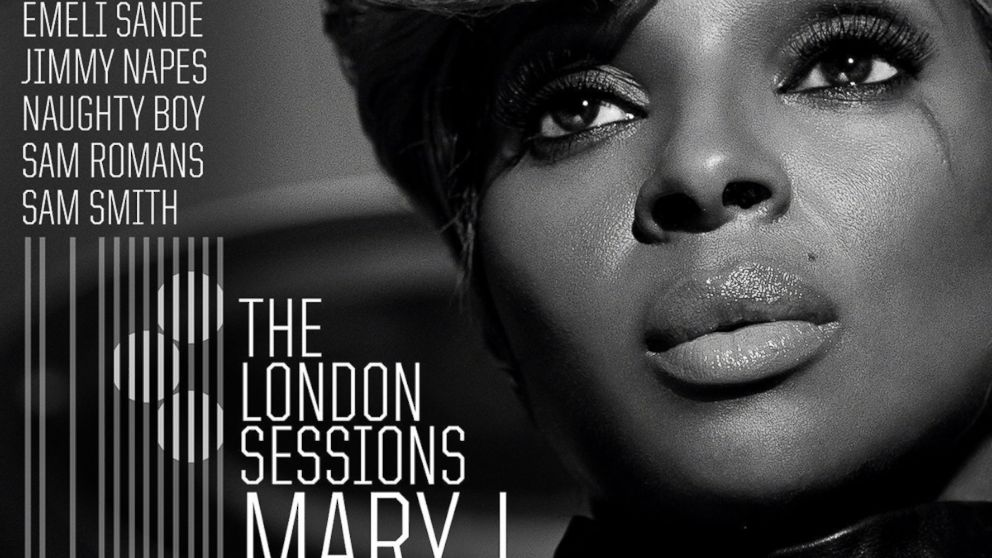 """Mary J. Blige's """"The London Sessions"""" album."""