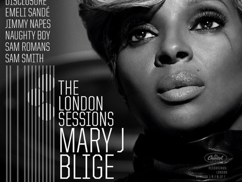 PHOTO: Mary J. Bliges The London Sessions album.