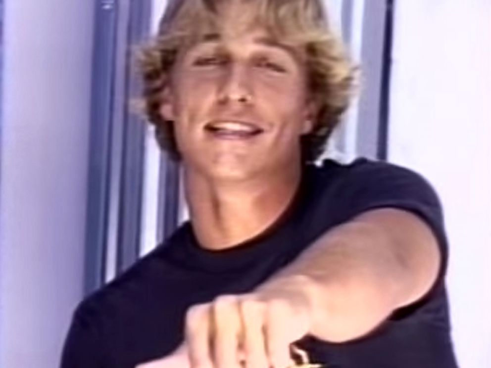 Watch Matthew Mcconaughey S Dazed And Confused Audition Tape Abc News