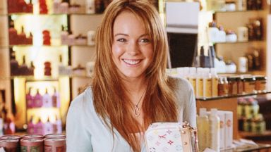 "Lindsay Lohan appears in the 2004 film, ""Mean Girls""."