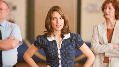 "Tina Fey appears in the 2004 film, ""Mean Girls""."