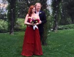 PHOTO: Actors Melissa Gilbert and Timothy Busfield tied the knot at San Ysidro Ranch in Santa Barbara, Calif., April 24, 2013.