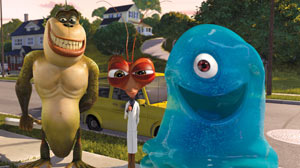 Witty Monsters vs. Aliens dazzles in 3-D