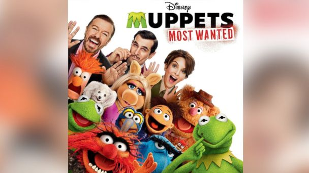 """PHOTO: Various Artists, """"""""Muppets Most Wanted"""" (Original Motion Picture Soundtrack)."""""""