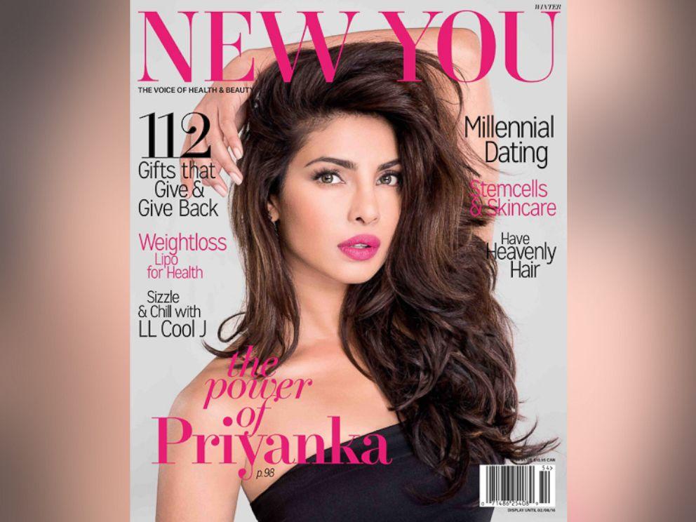 PHOTO:Priyanka Chopra appears on the cover of NEW YOU Magazine.