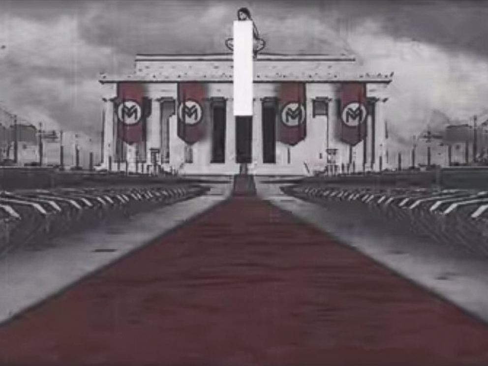 PHOTO: Nicki Minaj recently released a video for her song, Only, featuring Chris Brown, Drake and Lil Wayne, that critics say glorifies Nazism.