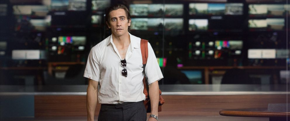"""PHOTO: Jake Gyllenhaal is seen in this undated still from the film """"Nightcrawler."""""""