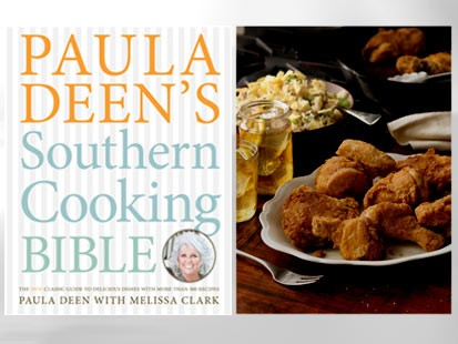 Paula deens best ever southern fried chicken recipe abc news photo the cover of paula deens southern cooking bible by paula deen with melissa clark forumfinder