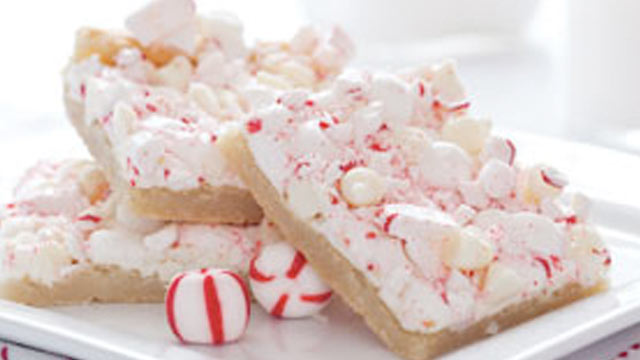 PHOTO:Peppermint Bars from the kitchen of Sandra Lee are shown.