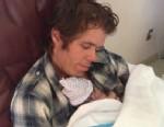 PHOTO: Celebrity blogger Perez Hilton announced on his blogging website, perezhilton.com, the birth of his new baby son, Feb. 27, 2013.
