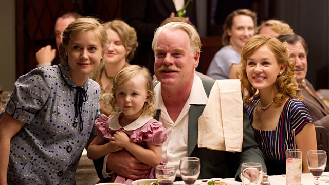 PHOTO: Phillip Seymour Hoffman and Amy Adams in 'The Master'