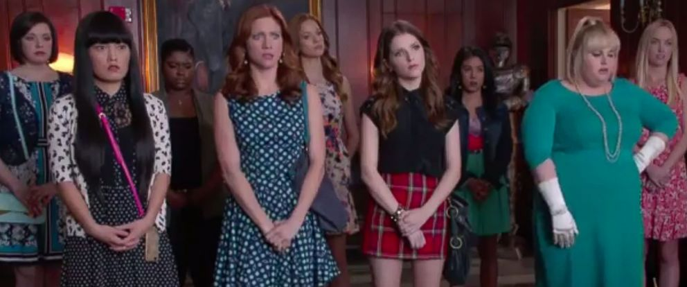 PHOTO: The cast from Pitch Perfect 2 appears in this screen grab from the new trailer released Nov. 20, 2014.