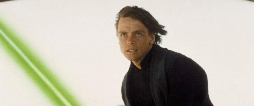 PHOTO: A photo of Mark Hamill as Luke Skywalker from Star Wars: Episode VI - Return of the Jedi, 1983.