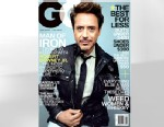 PHOTO: Ironman, Robert Downey JR appears on the cover of May 2013 issue of GQ magazine.
