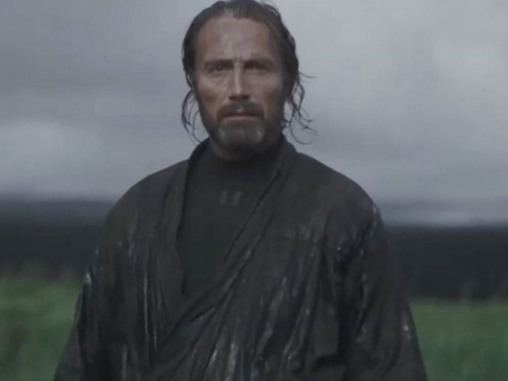 PHOTO: Actor Mads Mikkelsen stars in Rogue One: A Star Wars Story.